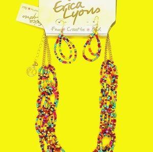 ♠️+ NEW! E Lyons Statement Necklace Colour Twist